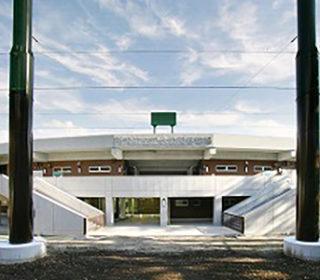 所沢航空公園野球場メインスタンド
