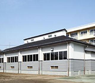 所沢市立向陽中学校柔剣道場