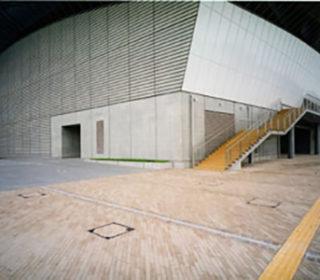 市民体育館外構
