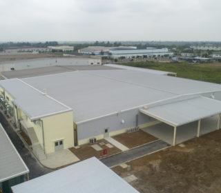 ARION ELECTRIC VIETNAM 工場棟及びキャンティーン棟増設工事