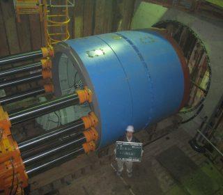岩岡雨水1号幹線築造工事