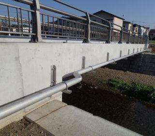 下安松地内汚水圧送管布設工事