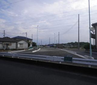 北中道路工事