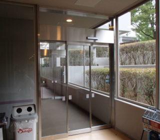 自動ドア設置工事