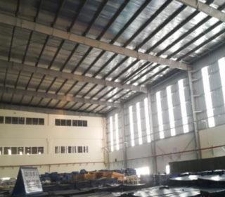 NIPPO MECHATORONICS VN 工場内倉庫改修工事