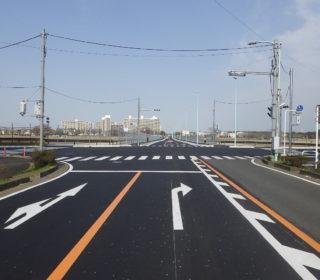 市道3-1114号線(東西連絡道路)道路築造工事